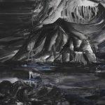 문성윤 ⓒ Black Island 45.5×53cm 캔버스에 아크릴, 블랙파우더 2019