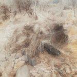정선아 ⓒ 바삭한 풍경_덤불 91×116.8cm oil on canvas 2020