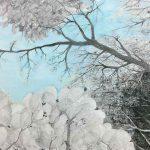 박지영 ⓒ 시선이 머문 풍경: 사이, 그 사이 72.7×91cm mixed medium on canvas 2017